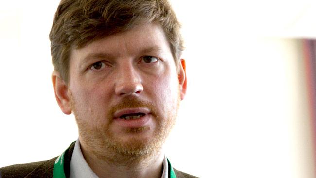 Centerpartiets chefsekonom Martin Ådahl. Foto: Chang Frick / Nyheter Idag