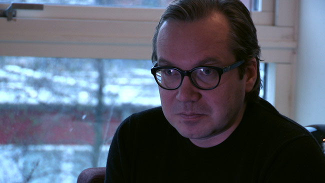 Galleristen Henrik Rönnquist. Foto: Chang Frick / Nyheter Idag
