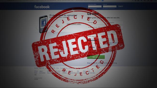 Facebook är inte för alla. Montage: Nyheter Idag