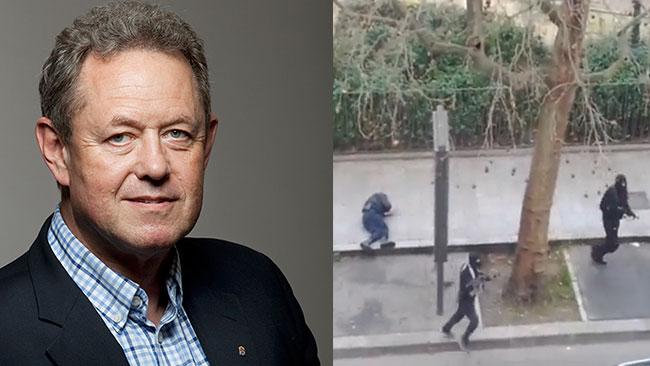 Lars Nicander till vänster. Bilden är ett montage. Foto: Pressbild / Faksimil Youtube