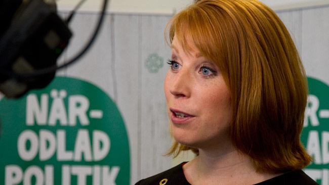 Centerpartiets partiledare Annie Lööf. Foto: Chang Frick / Nyheter Idag