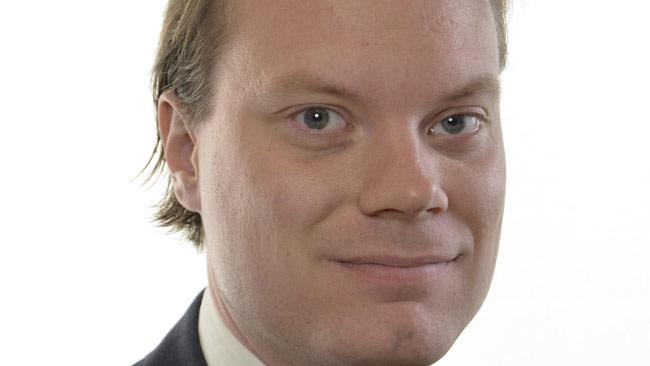Riksdagsledamoten Martin Kinnunen. Foto: pressbild riksdagen.se