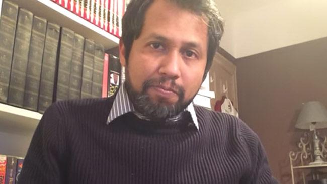 Muffasil kommenterar terrordådet i Köpenhamn. Foto: Faksimil Youtube
