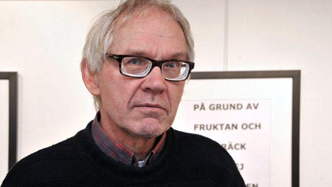 Konstnären Lars Vilks. Foto: Björn Bergman / photo2be.com
