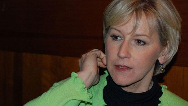 Utrikesminister Margot Wallström. Foto: Wikimedia Commons