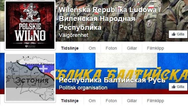 Revolutionen börjar på Facebook? Faksimil: Facebook
