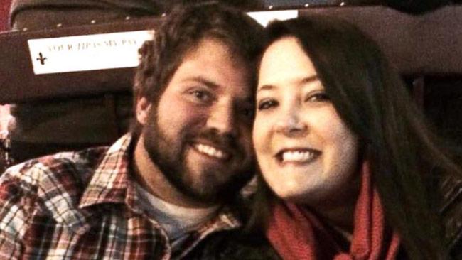 Danny Robinson och Ashley McIntyre. Foto: Privat / Ashley McIntyre