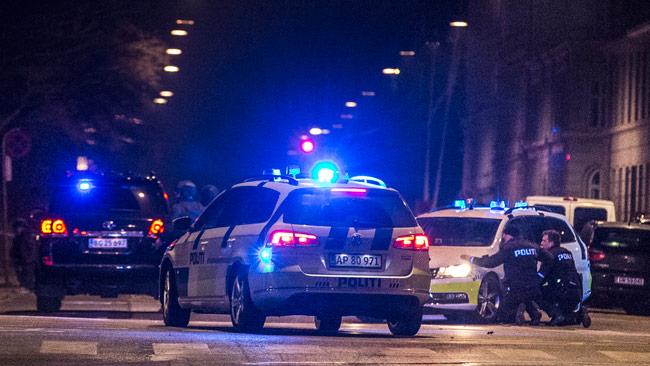 Polisen spärrade av delar av Köpenhamn i jakt på terroristen.