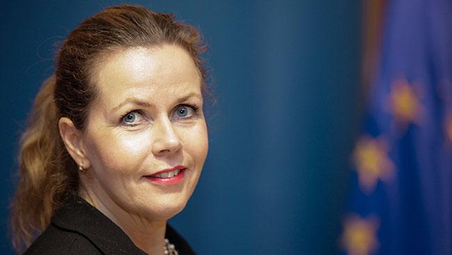 Europaparlamentarikern Cecilia Wikström (fp) Foto: Pressbild