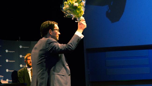 Det ryktas att Åkesson kommer försvinna helt från politiken. Foto: Chang Frick / Nyheter Idag