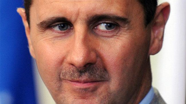 Bashar al-Assad kommer att sitta kvar, vad än väst må tycka om den saken. Foto: Wikipedia