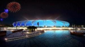 Doha Port Stadium är en av de föreslagna arenor som kan byggas inför VM 2022. Foto: Wikipedia