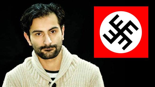 Hanif Bali likställer Fi mellan raderna med totalitära ideologier. Bilden är ett montage. Foto: Privat / Facebook