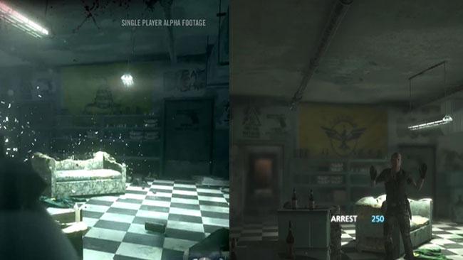 I BF: Hardline skjuter spelaren på amerikanska frihetsextremister. Bilden är ett fotomontage / Youtube