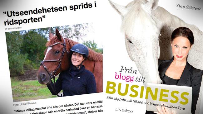 Ponnymamman (t.v) till attack mot Tyra Sjöstedt (t.h) på SVT Opinion. Foto: Faksimil svt.se / teamtyra.se