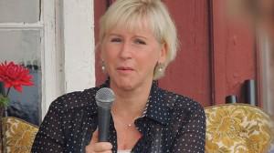 Margot Wallström är inte särskilt populär i Mellanöstern. Foto: Wikipedia