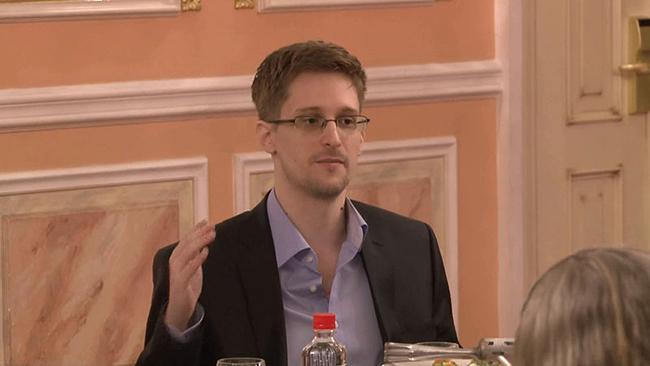 Edward Snowden läckte uppgifterna som The Intercepter nu publicerar. Foto: Wikimedia Commons