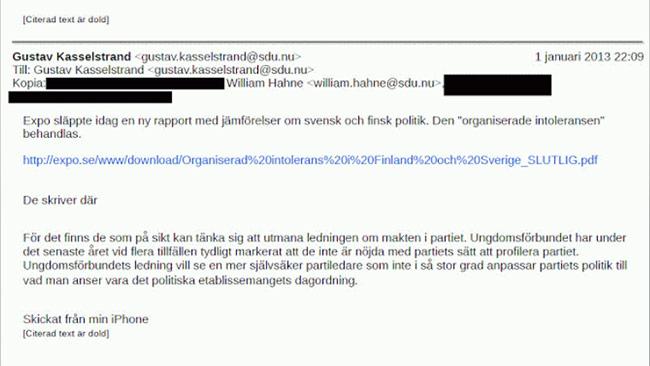 Kasselstrand är nöjd med hur Expo rapporterar
