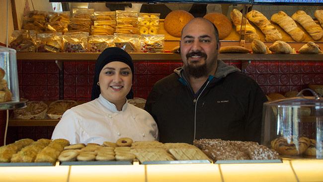 Sema och hennes bror Ahmed tog över Ingeborgs Bageri. Foto: Nyheter Idag