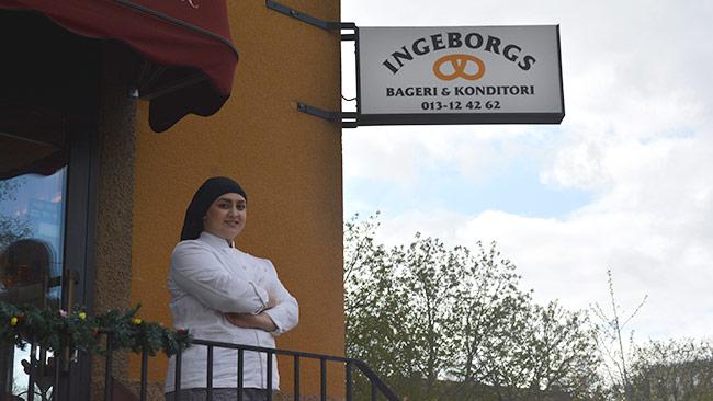 Sema hoppas kunna gå med vinst på bageriet. Foto: Nyheter Idag