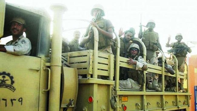 Saudiska infanterister. Foto: Wikipedia