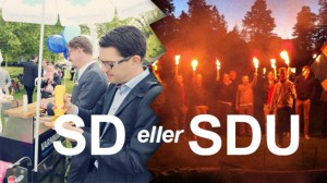 Det råder delade meningar mellan SD och SDU. Bilden är ett montage.