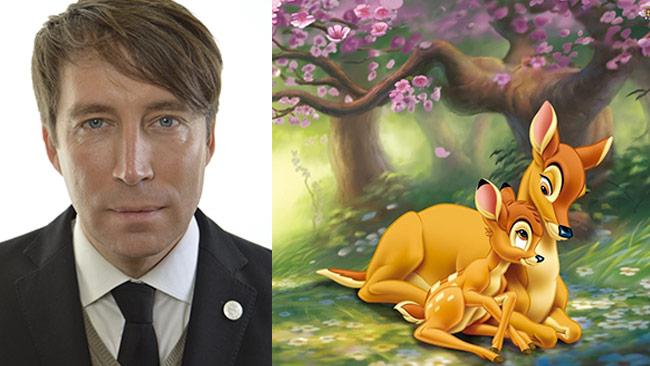 Rådjur är det största hotet mot tulpanlökar sedan Jomshof kom in i riksdagen. Bilden är ett montage.
