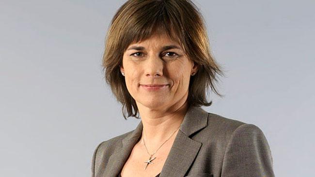 Sveriges biståndsminister Isabella Lövin vill omfördela pengar från biståndet till flyktingmottagandet. Foto: Wikipedia
