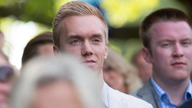 SDU-toppen William Hahne kommer att uteslutas berättar källor med god insyn i Sverigedemokraterna. Foto: Chang Frick / Nyheter Idag