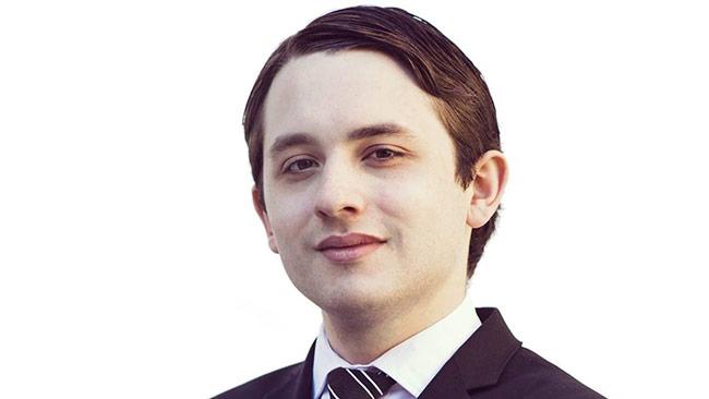 20-årige Alex Singer arbetar på Sverigedemokraternas kommunikationsavdelning. Foto: Privat