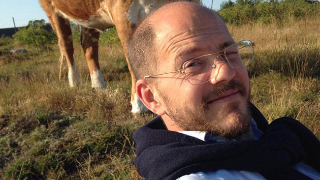 Det är alltså ledarskribenten Per Gudmundson som avslöjar det hela på sin blogg. Foto: Knyckt från Facebook