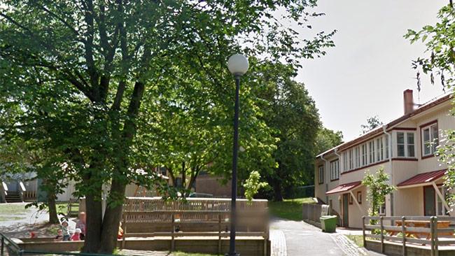 En förskola i Majorna, Göteborg. Foto: Google maps
