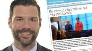 Johan Forssell (M) är vice ordförande i Socialförsäkringsutskottet. Foto: riksdagen.se / Faksimil moderat.se