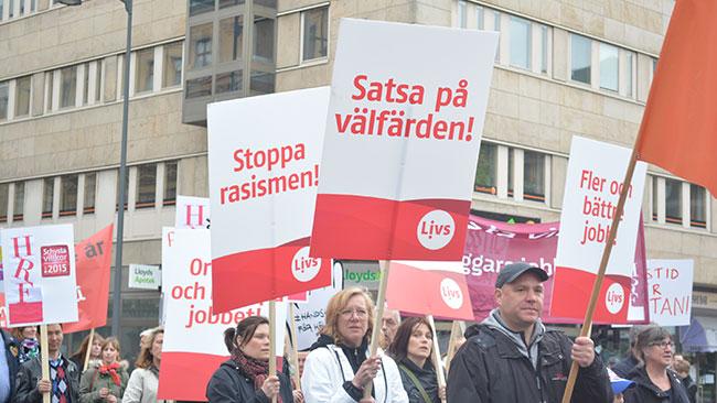 Fackförbundet Livs går från klarhet till klarhet i sin behandling av småföretagare. Foto: Nyheter Idag