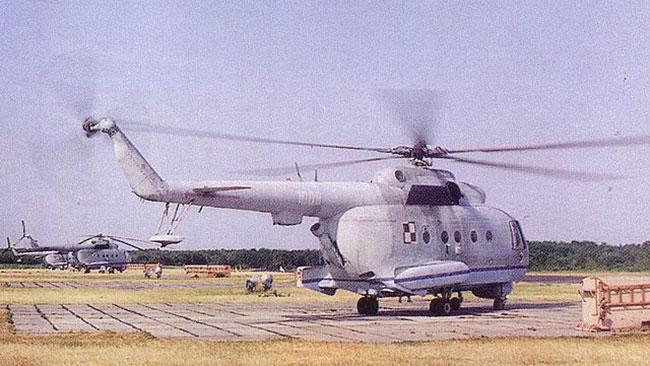 En polsk variant av den sovjetiska Mi-14. Foto: Wikipedia