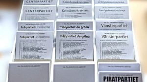 """Socialdemokraterna har koll på när folk råkar ta """"fel"""" valsedel. Foto: CC Bengt Nyman / Wikimedia Commons"""