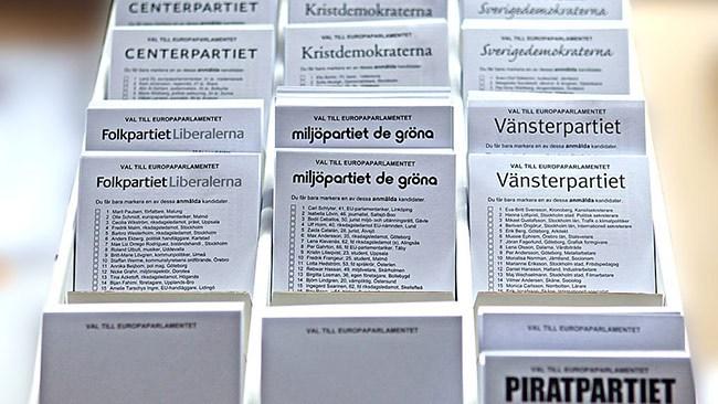 Drygt en halv miljon utländska medborgare får rösta i Sverige