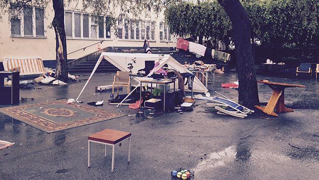 Men privat ägande och riskkapital kan man slippa sådana här scener i framtiden. Foto: Bitte Assarmo / Nyheter Idag