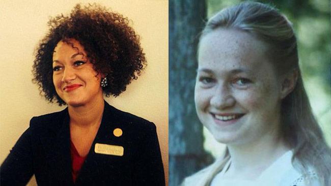 Rachel Dolezan avslöjades ha fejkat afro-amerikanskt påbrå. Foto: Facebook / Privat