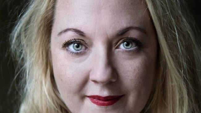 Den borgerlige debattören Rebecca Uvell. Foto: pressbild uvell.se