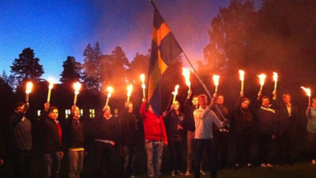 Såhär har det tidigare sett ut när SDU firar nationaldagen. Foto: Privat