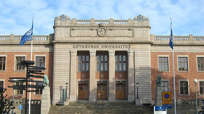 Göteborgs Universitet. Foto: Wikipedia Commons