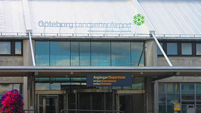 Landvetter flygplats. Foto: Wikimedia Commons