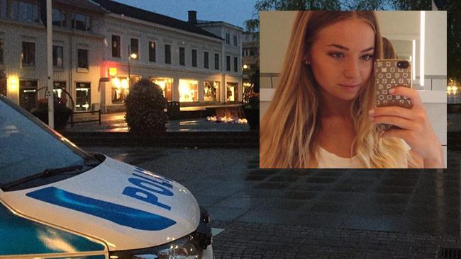 """Nu talar polisen """"Sara"""" ut på Facebook om fallet Lisa Holm. Bilden är ett montage. Foto: Polisen / Privat"""