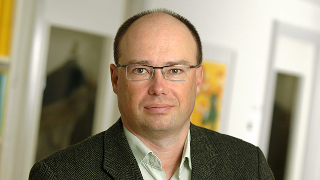 Mattias Lundbäck är ekonomie doktor vid forskningsinstitutet Ratio. Foto: Labe Allwin