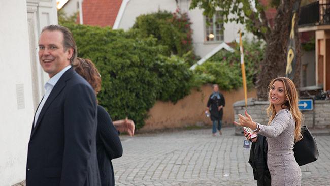 Grekland bör lära av Anders Borg (t.v). Foto: Chang Frick / Nyheter Idag
