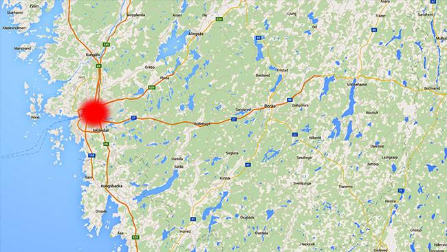 Tillslaget är gjort i Göteborg. Foto: Google Maps