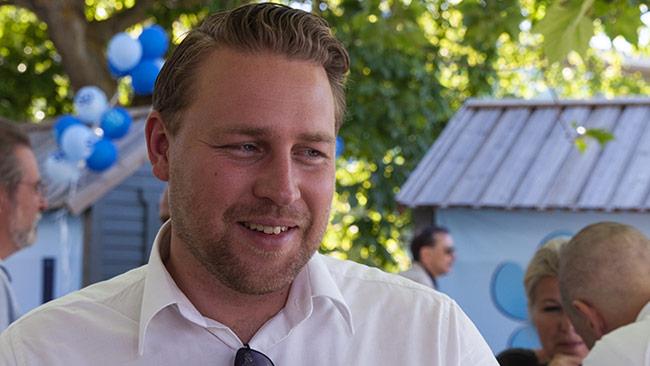 Mattias Karlsson (SD) Foto: Nyheter Idag