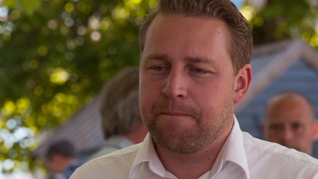 Mattias Karlsson (SD) Foto: Chang Frick / Nyheter Idag