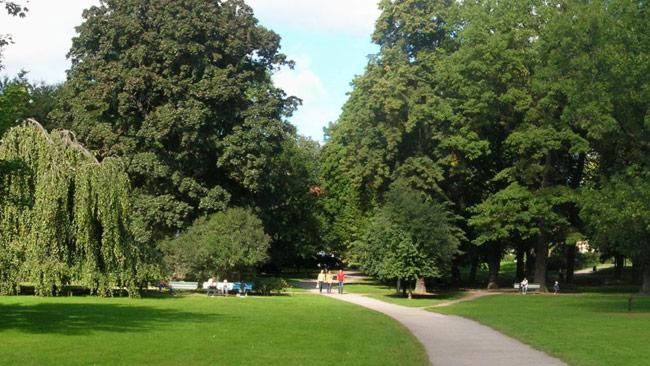 Det var någonstans vid Humlegården som händelsen inträffade. Foto: Wikimedia Commons